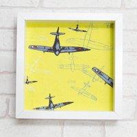 Framed Spitfire Linen Gift Print