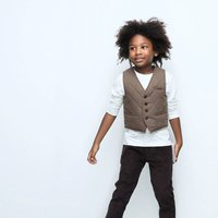 Quilted Boys Waistcoat