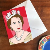'Queenie' A6 Greetings Card