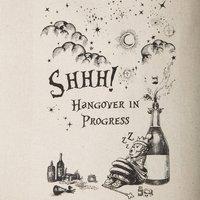 Shhh Hangover In Progress Bag