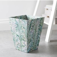 Decorative Wastepaper Bin And Clear Liner