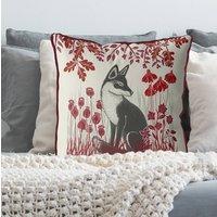 Country Lane Cushion Fox No3, Multi Colours Avail
