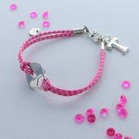 Kids Personalised Locket Charm Bracelet