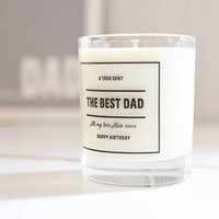 Dad Personalised Fragranced Candle