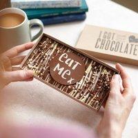'Eat Me' Honeycomb Chocolate Slab