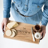 Personalised Premium Family Serving Board