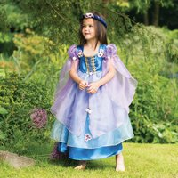 Girl's Orchid Flower Maiden Dress Up Costume