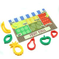 Fruit Stall Play Mat And Dough Cutters