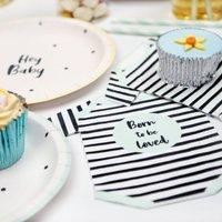 Baby Shower Gender Neutral Paper Napkins