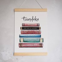 Tsundoku Book Lovers Print