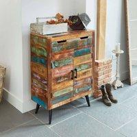 Dunes Boat Wood Shoe Storage Cupboard