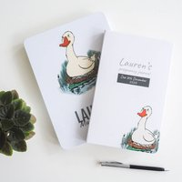 Personalised Mum To Be Notebook Tin Set