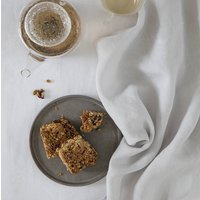 Dove Grey Linen Tea Towel