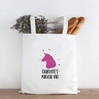 Personalised Unicorn Magical Tote Bag