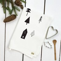 Woodland Tea Towel