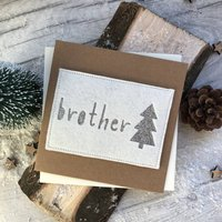 Brother Felt Christmas Card