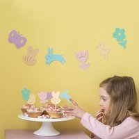 Spring Time Easter Bunting Decoration