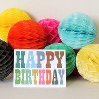 Happy Birthday Mini Card