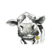 Cow Print Camilla Moo Limited Edition Print