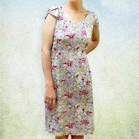 Floral 1950s Vintage Style Summer Dress