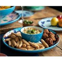 Majolica Dip And Dine Serving Platter
