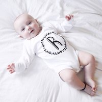 Personalised New Baby Initial Babygrow