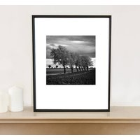 Walsham Le Willows, Black And White, Art Print