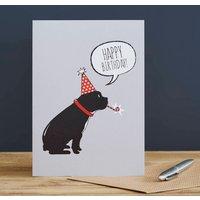 French Bulldog Birthday Card