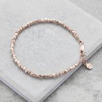 Rose Gold Nugget Bracelet, Gold