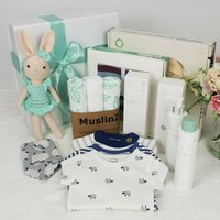 Welcome To The World Deluxe New Baby Gift Box