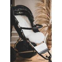 Baa Baby Buggy Style Sheepskin Pram Liner Ivory Long