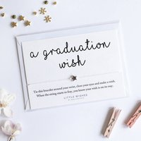 A Handmade Wish Bracelet Gift For Graduation