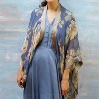 Bohemian Style Silk Shrug