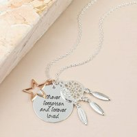 Never Forgotten Meaningful Words Necklace