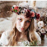 Ruby Rose Flower Crown