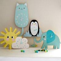 Children's Animal Clock