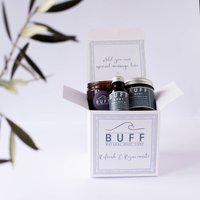 Body Refresh And Rejuvenate Pamper Box, White/Black