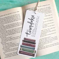 Tsundoku Book Lover's Bookmark