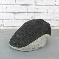 Yorkshire Tweed Colour Block Flat Cap