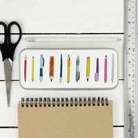 Personalised Pencil And Pens Tin Pencil Case