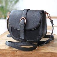 Vegan Leather Crossbody Handbag