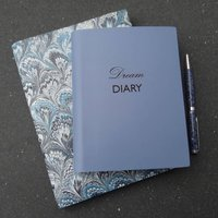 Personalised Dream Diary Leather Diary Journal