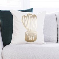 Personalised Cactus Tropical Cushion