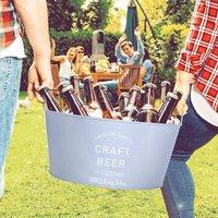 Personalised Home Bar Craft Beer Ice Bucket