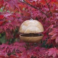 Oak Applecore Bird Feeder