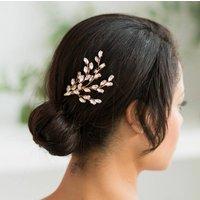Skylar Gold Wedding Hair Comb