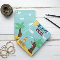 Personalised Pirate Notebook