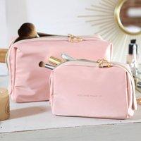 Pink Kiss And Make Up Wash Bag