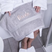 Bridal Bath Towel