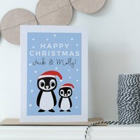 Personalised Grandchildren's Christmas Card